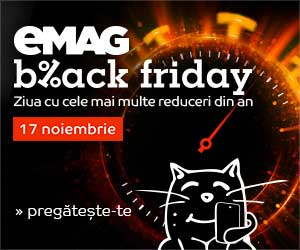 Black Friday Romania 2017 eMAG