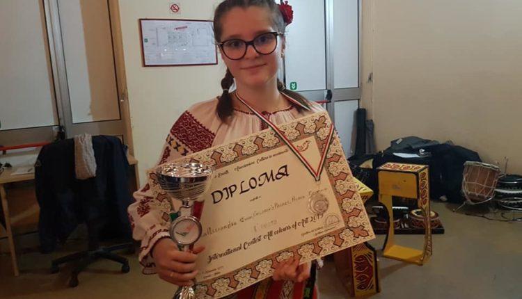 Alexandra Udrea, Clubul Copiilor Berca